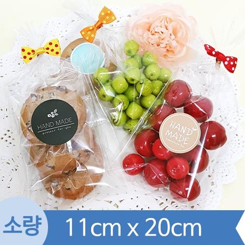 [소량] OPP투명비접착봉투 ( 11cm x 20cm ) 1봉 200장