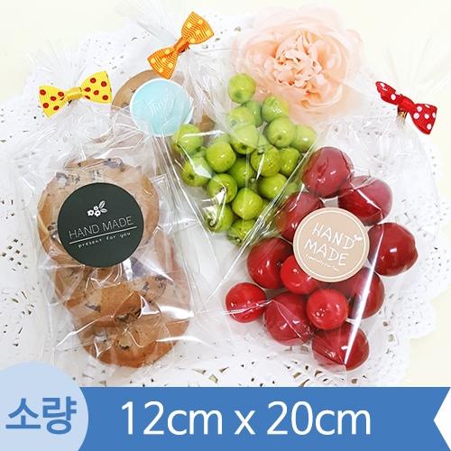 [소량] OPP투명비접착봉투 ( 12cm x 20cm ) 1봉 200장
