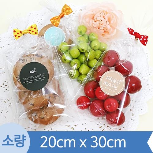 [소량] OPP투명비접착봉투 ( 20cm x 30cm ) 1봉 200장